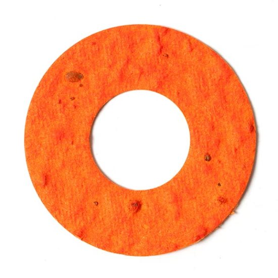 seed paper donut shape